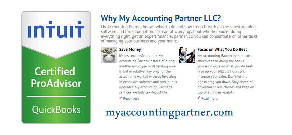 Accounting Services Washington Township NJ | My Accounting Partner